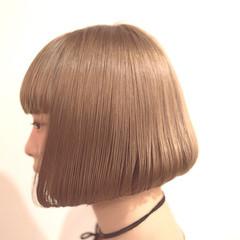前下がり ボブ モード ショートボブ ヘアスタイルや髪型の写真・画像