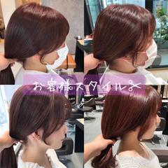 ロング ナチュラル レイヤーカット 韓国ヘア ヘアスタイルや髪型の写真・画像