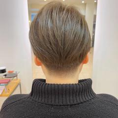 ショートヘア ショート 刈り上げ女子 ナチュラル ヘアスタイルや髪型の写真・画像