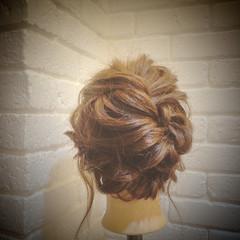セミロング ショート ゆるふわ ヘアアレンジ ヘアスタイルや髪型の写真・画像