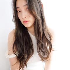 タンバルモリ レイヤーカット レイヤーロングヘア 韓国ヘア ヘアスタイルや髪型の写真・画像