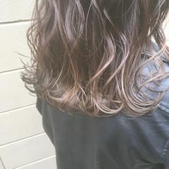 ストリート 圧倒的透明感 透明感 ロング ヘアスタイルや髪型の写真・画像