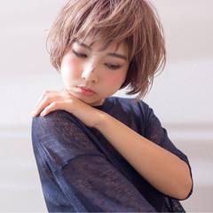 小顔 こなれ感 ガーリー 色気 ヘアスタイルや髪型の写真・画像
