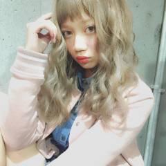 大人かわいい 外国人風 ロング ヘアアレンジ ヘアスタイルや髪型の写真・画像