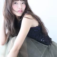 フェミニン 大人かわいい ロング ガーリー ヘアスタイルや髪型の写真・画像