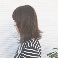 ナチュラル 大人女子 色気 かっこいい ヘアスタイルや髪型の写真・画像