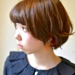 ガーリー ストリート ショート ゆるふわ ヘアスタイルや髪型の写真・画像
