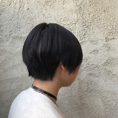 ショート 梅雨 オフィス ナチュラル ヘアスタイルや髪型の写真・画像