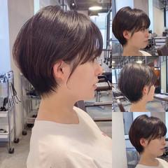 ショート 小顔ショート ショートヘア ショートボブ ヘアスタイルや髪型の写真・画像