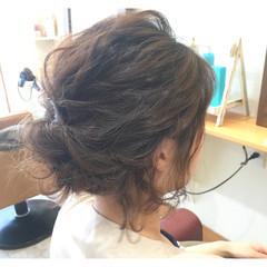 ボブ ヘアアレンジ ゆるふわ 大人かわいい ヘアスタイルや髪型の写真・画像