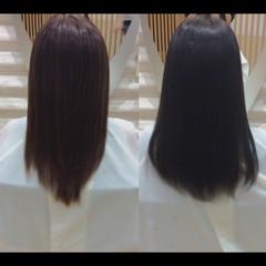 髪質改善カラー ロング 髪質改善トリートメント 社会人の味方 ヘアスタイルや髪型の写真・画像