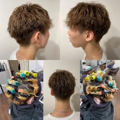 無造作パーマ スパイラルパーマ ショート パーマ ヘアスタイルや髪型の写真・画像