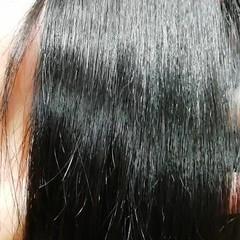 艶髪 トリートメント うる艶カラー 黒髪 ヘアスタイルや髪型の写真・画像
