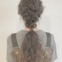 涼しげ デート ロング 大人かわいい ヘアスタイルや髪型の写真・画像