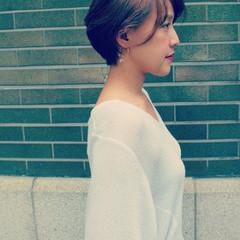 抜け感 前髪あり ナチュラル こなれ感 ヘアスタイルや髪型の写真・画像