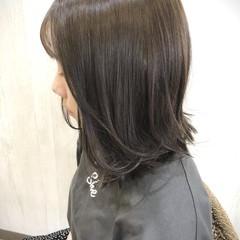 髪質改善トリートメント 大人可愛い ミディアム イルミナカラー ヘアスタイルや髪型の写真・画像