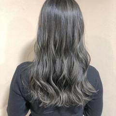 フェミニン 大人ハイライト 髪質改善カラー ロング ヘアスタイルや髪型の写真・画像