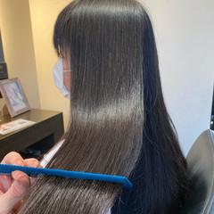 髪質改善 髪質改善トリートメント ロング ナチュラル ヘアスタイルや髪型の写真・画像
