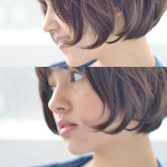大人ショート マッシュ マッシュショート ショートマッシュ ヘアスタイルや髪型の写真・画像