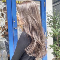 外国人風カラー ナチュラル ブリーチ ブリーチカラー ヘアスタイルや髪型の写真・画像