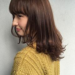 暗髪 大人女子 フェミニン ニュアンス ヘアスタイルや髪型の写真・画像