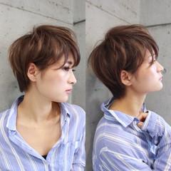モード 外国人風 ボブ 小顔 ヘアスタイルや髪型の写真・画像