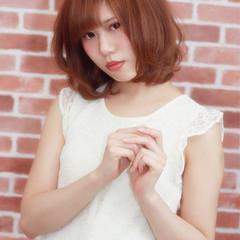 ミディアム コンサバ 大人女子 艶髪 ヘアスタイルや髪型の写真・画像