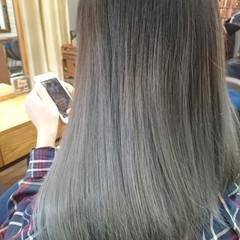 ナチュラル ナチュラルグラデーション ロング ハイライト ヘアスタイルや髪型の写真・画像