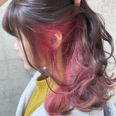 ダブルカラー ロング ストリート 外国人風カラー ヘアスタイルや髪型の写真・画像