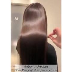 美髪矯正 ナチュラル 美髪 ロング ヘアスタイルや髪型の写真・画像