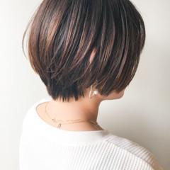 オフィス コンサバ 大人かわいい ハイライト ヘアスタイルや髪型の写真・画像