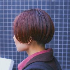 ブリーチ グラデーションカラー ダブルカラー モード ヘアスタイルや髪型の写真・画像