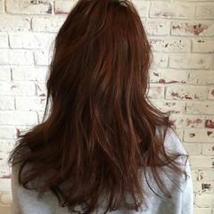 ナチュラル モテ髪 ピンク ゆるふわ ヘアスタイルや髪型の写真・画像