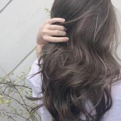 デート 大人ハイライト ハイライト ナチュラル ヘアスタイルや髪型の写真・画像