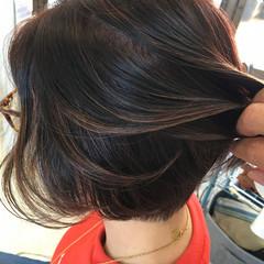 極細ハイライト コントラストハイライト 大人ハイライト ナチュラル ヘアスタイルや髪型の写真・画像
