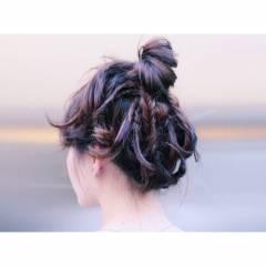 ストリート ウェットヘア ヘアスタイルや髪型の写真・画像