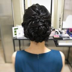 お呼ばれヘア 結婚式 大人可愛い ヘアアレンジ ヘアスタイルや髪型の写真・画像