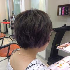 マッシュ ダブルカラー グラデーションカラー ブリーチ ヘアスタイルや髪型の写真・画像