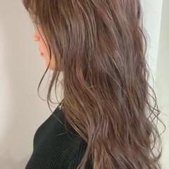 デート フェミニン モテ髪 透明感カラー ヘアスタイルや髪型の写真・画像