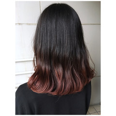 ピンクパープル ピンク ベリーピンク ナチュラル ヘアスタイルや髪型の写真・画像