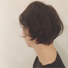 アッシュ 外国人風カラー ナチュラル ショート ヘアスタイルや髪型の写真・画像