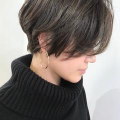 大人かわいい ショート コンサバ ショートヘア ヘアスタイルや髪型の写真・画像