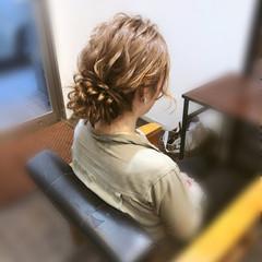 ロング ヘアセット アップ アップスタイル ヘアスタイルや髪型の写真・画像