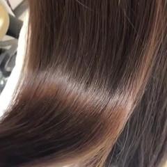 結婚式 髪質改善 ロング 髪質改善カラー ヘアスタイルや髪型の写真・画像
