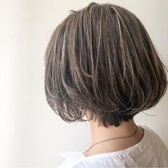 ゆるふわ オフィス ハイライト 大人かわいい ヘアスタイルや髪型の写真・画像