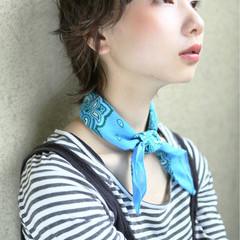 外国人風 パーマ 大人かわいい ストリート ヘアスタイルや髪型の写真・画像