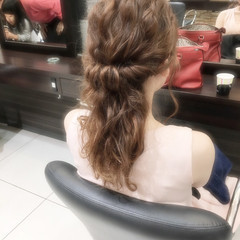 ショート ポニーテール セミロング 簡単ヘアアレンジ ヘアスタイルや髪型の写真・画像