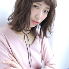 フェミニン アッシュ ガーリー 色気 ヘアスタイルや髪型の写真・画像
