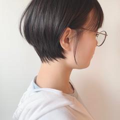 ショートヘア ベリーショート 黒髪ショート 黒髪 ヘアスタイルや髪型の写真・画像