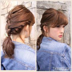 ゆるふわ フェミニン ヘアアレンジ ショート ヘアスタイルや髪型の写真・画像